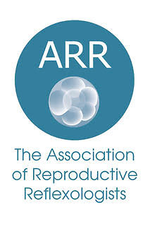 Fertility & Maternity Reflexology. ARR Logo